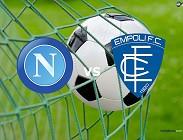 Napoli Empoli streaming live gratis per vedere link, canali tv, siti web