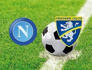Napoli Frosinone streaming gratis live link, siti web. Dove vedere