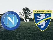 Streaming Napoli Frosinone diretta live gratis