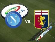 Napoli Genoa streaming live gratis. Dove vedere