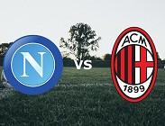Napoli Milan streaming gratis live. Dove vedere siti web, link
