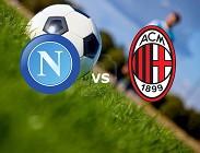 Napoli Milan streaming live gratis siti web, link. Dove vedere