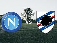 Napoli Sampdoria diretta live streaming siti web Rojadirecta