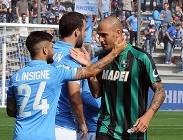 Streaming Napoli Sassuolo live diretta