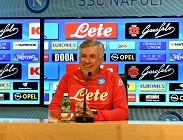 Streaming Napoli Sassuolo diretta live gratis