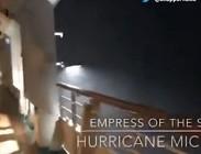 Video spaventoso uragano