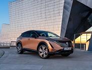 Nuovo suv elettrico Nissan Ariya