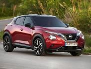 Prova su strada Nissan Juke 2021