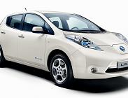 Nissan Leaf auto, elettrica, Enel, ricarica, caratteristiche