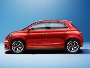 Novità Fiat 500 2020