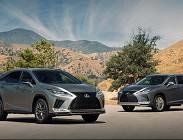 I modelli Lexus in uscita