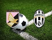 Palermo Juventus streaming live gratis. Dove vedere siti web, link
