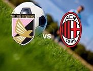 Palermo Milan streaming live gratis diretta per vedere su canali tv, link, siti web migliori