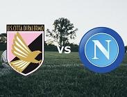 Palermo Napoli streaming live gratis. Dove vedere siti web, link