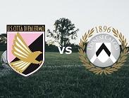 Palermo Udinese streaming live gratis link, siti web. Dove vedere