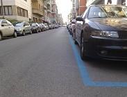 Parcheggi disabili strisce blu