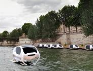sea bubbles, parigi, taxi volanti, vaibilità