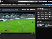 Partite streaming  Napoli Benfica Rojadirecta siti web, link Champions League. Dove vedere e domani Europa League e Serie A sabato