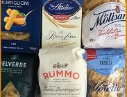 Pasta, estate, etichetta origine