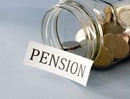 Pensioni novità manovra finanziaria
