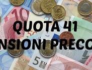 Pensioni quota 41 2019