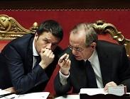Pensioni, riforma fiscale, quota 96, provvedimenti anticorruzione, indulto, amnistia: novit� mercoled� oggi Governo Renzi
