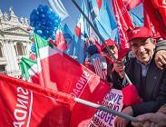 Pensioni sciopero sindacati