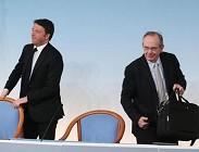 Pensioni Governo Renzi riforma ultime notizie in manovra finanziaria sembra con i dati attuali molto difficile approvazione