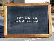 Quali sono permessi motivi personali