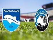 Pescara Atalanta streaming live gratis siti web. Dove vedere