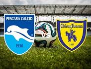 Pescara Chievo streaming live gratis link, siti web. Dove vedere