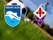 Pescara-Fiorentina streaming
