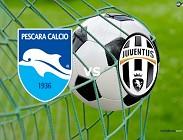 Pescara Juventus streaming