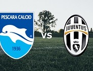 Pescara Juventus in streaming
