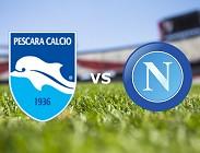 Pescara Napoli streaming live gratis per vedere su canali tv, link, siti web