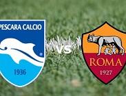 Pescara Roma live gratis in streaming