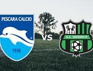 Pescara Sassuolo streaming