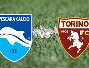 Torino Pescara streaming live gratis per vedere (in aggiornamento)
