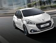 Prezzi listino Peugeot 208 2019