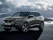 Peugeot 3008 2020 prezzi, motorizzazioni