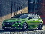 Nuova berlina Peugeot 308 2021
