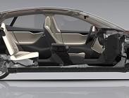 Rifiuti elettronici per auto elettrica