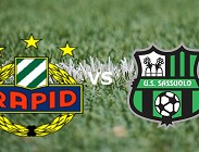 Rapid Vienna Sassuolo streaming gratis live link, siti web. Dove vedere