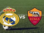 Vedere Real Madrid Roma streaming gratis live su siti web, link