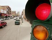 Semaforo rosso e ricorso multa