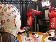 Robot controllati con il pensiero
