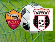 Partite in streaming Astra Giurgiu-Roma in live diretta su streaming siti calcio e Rojadirecta