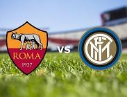 Roma Inter streaming link. Dove vedere gratis