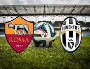 Roma Juventus in streaming