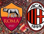 Roma Milan streaming da vedere italiano